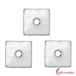Scheibe quadratisch 5x5 mm Silber VE 20 Stück