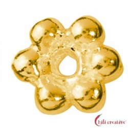 Kugelring mini 3,5 mm Silber vergoldet VE 90 Stück