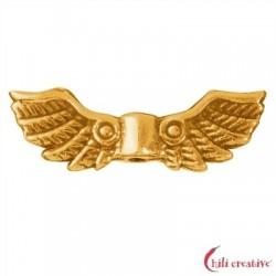 Flügel Bygul 22 mm Silber vergoldet VE 4 Stück