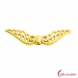 Flügel Baroque 30 mm Silber vergoldet VE 4 Stück