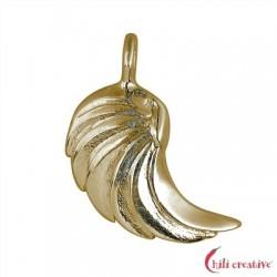 Flügel Hagiel 17 mm Silber vergoldet VE 2 Stück