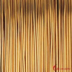 Designer-Draht-Muster 24ct vergoldet 8m