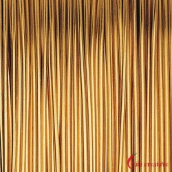 Designer-Draht 24ct vergoldet 0,60 mm/10 mm