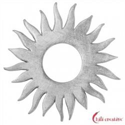 Sonne Silber matt 35 mm