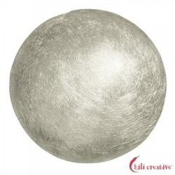 Halbkugel Silber matt 18 mm