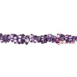Strang Splitter Amethyst A facettiert 2-5 x 5-10 mm