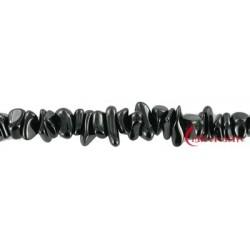 Strang Splitter Turmalin (schwarz) 2-6 x 5-10 mm