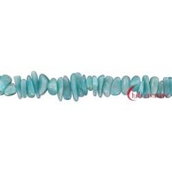 Strang Splitter Amazonit hell 2-6 x 5-10 mm