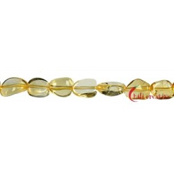 Strang Nuggets Citrin (erhitzt) 10-12 mm