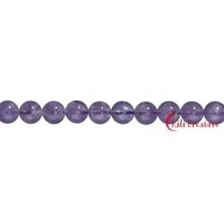 Strang Kugel Amethyst 2 mm