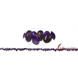 Strang Splitter Amethyst 1-3 x 3-8 mm 88 cm