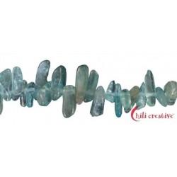Strang Splitter ( Zahn ) Apatit hell 2-5 x 5-15 mm