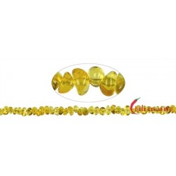 Strang Trommelsteine Bernstein 4-9 x 5 mm