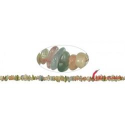 Strang Splitter Beryll (Aquamarin Morganit u.a.) 2-4 x 5-10 mm