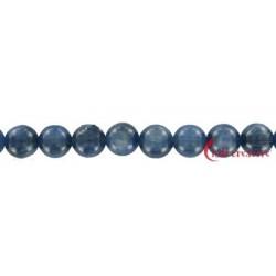 Strang Kugel Disthen (blau) AA 8 mm