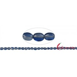 Strang Linse Disthen (blau) AAA 6-8mm
