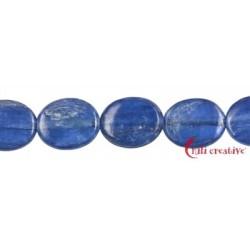 Strang Linse Disthen (blau) AAA 10 x 8 mm