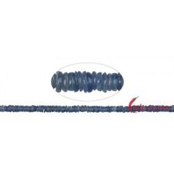 Strang Button Disthen (blau) AA 2-3 x 5 mm