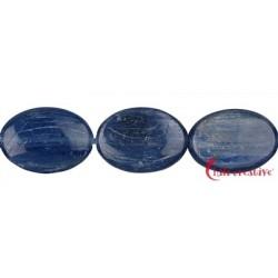 Strang Linse Disthen (blau) AA 18 x 13mm