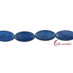Strang Linse Disthen (blau) AA 15 x 8mm