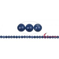 Strang Kugeln Disthen (blau) 8 mm