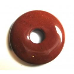 Donut Jaspis rot 30 mm