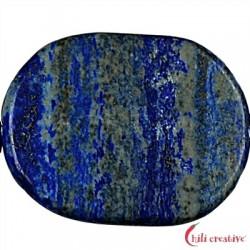 Strang Platten Freeform Lapis Lazuli AA matt 28-40 x 25-30 x 5 mm