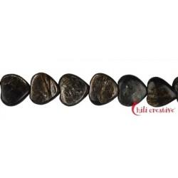 Strang Herz Muskovit-Glimmer (stab.) 12 x 12 x 5-6 mm
