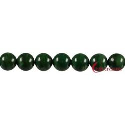 Strang Kugel Budstone (Grünschiefer) 10 mm