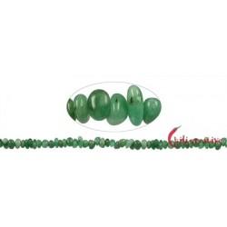 Strang Splitter Smaragd 2-4 x 5-10 mm