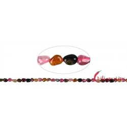 Strang Pebbles Turmalin bunt A 4-6 x 3 mm