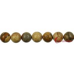 Strang Kugel Marmor Landschafts- 10 mm