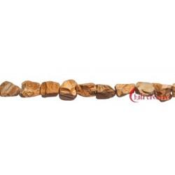 Strang Nuggets Marmor Landschafts- Roh (anpoliert) 12-17 mm