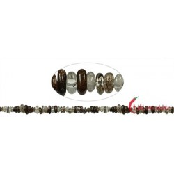 Strang Splitter Rutilquarz braun 3-5 x 5 -10 mm