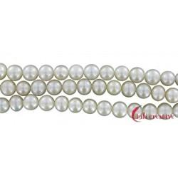 Strang Potatoe Süßwasser-Perle Ab weiß-creme 7-8 mm