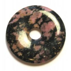 Donut Rhodonit in Matrix 40 mm