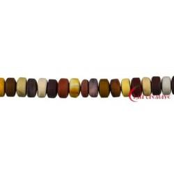 Strang Zylinder Mookait matt 3-4 x 7-8mm
