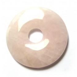 Donut Rosenquarz 30 mm