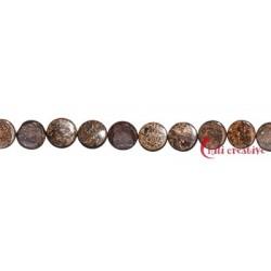 Strang Coin Bronzit (Ferro-Enstatit) 16 x 6 mm