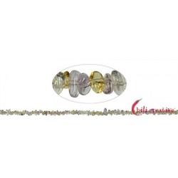 Strang Splitter Ametrin 1-3 x 3-8 mm 88 cm