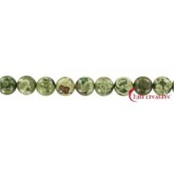 Strang Kugel Rhyolith (Regenwald) 10 mm
