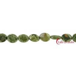 Strang Linse Rhyolith (Regenwald) 10x8 mm