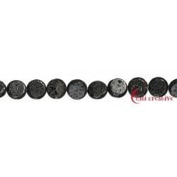 Strang Coin Lava poliert/gewachst 12 mm