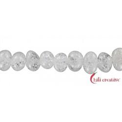 Strang Pebbles Crashed Crystal (behandelt) 11-14 x 12-18mm