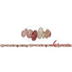 Strang Splitter Opal 1-3 x 3-8 mm 88 cm