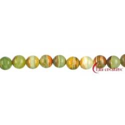 Strang Kugel Onyx-Marmor 10 mm