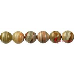 Strang Kugel Onyx-Marmor 12 mm