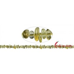 Strang Splitter Limonenquarz (erhitzt) 3-5 x 5-10 mm