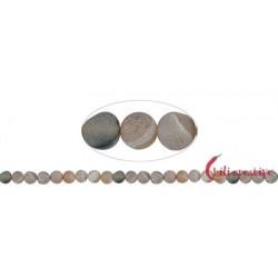 Strang Kugel Achat (Druzy) matt 8 mm