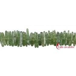 Strang Splitter lang Disthen grün AAA 12-20 mm